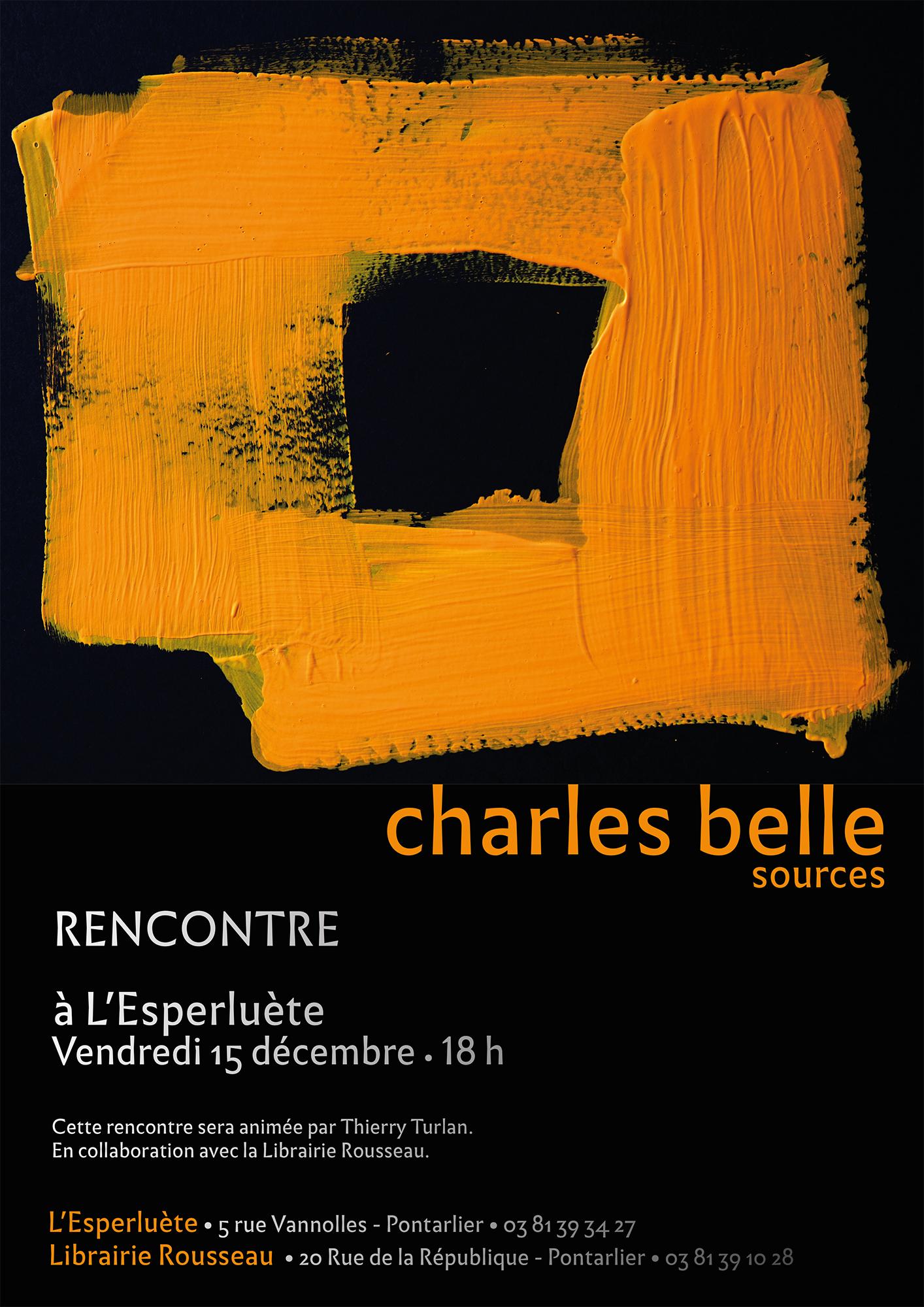L'Esperluète, café littéraire – 15 déc. – Pontarlier